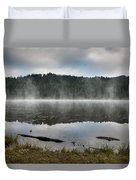 Reflections On Reflection Lake 2 Duvet Cover