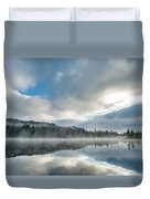 Reflections On Reflection Lake 5 Duvet Cover