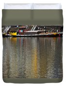 Reflections On Water Duvet Cover