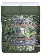 Reflections The Bridge Duvet Cover