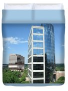 Reflective Mirror Architecture Duvet Cover