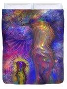 Reflective Peace Duvet Cover