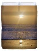 Reflective Spotlight  Duvet Cover