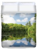 Reflecton On Tranquility Duvet Cover