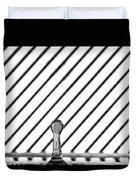 Refraction Column Duvet Cover