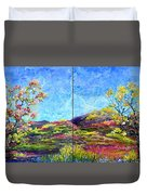 Refresh And Renew As A Diptych Orientation 1 Duvet Cover