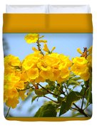 Refreshing Yellows Duvet Cover