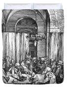 Refusal Of Joachim Offer 1503 Duvet Cover