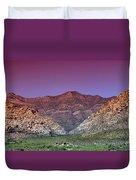 Regal Desert Duvet Cover