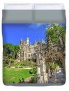 Regaleira Sintra Portugal Duvet Cover