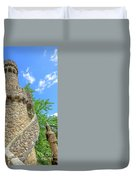 Regaleira Tower Sintra Duvet Cover