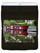 Regent Houseboats Duvet Cover