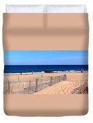 Rehoboth Beach Panorama Duvet Cover