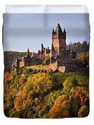 Reichsburg Castle Duvet Cover