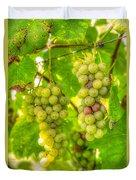 Riesling Harvest II Duvet Cover