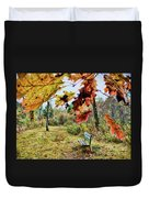Relax And Watch The Leaves Turn Duvet Cover