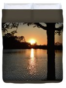 Relax By The Lake Duvet Cover
