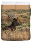 Relaxing Deer Duvet Cover