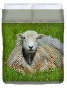 Relaxing In The Pasture Duvet Cover