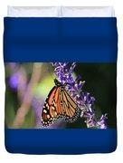 Relaxing Monarch Butterfly Duvet Cover