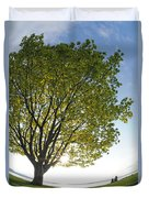 Relaxing Under A Tree Duvet Cover
