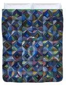 Relief M3 Corrugated Metal Duvet Cover