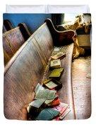 Religion Abandonded Duvet Cover