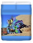 Reloaded Or Education Is A Powerful Weapon Mural -- 2 Duvet Cover