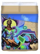 Reloaded Or Education Is A Powerful Weapon Mural Duvet Cover
