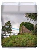 Remains Of Castle Lachlan Duvet Cover