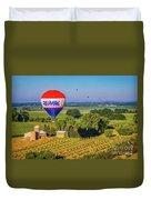 Remax Hot Air Balloon Ride Duvet Cover