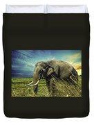 Remember Elephant Duvet Cover