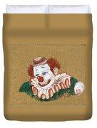 Remembering Felix Adler The Clown Duvet Cover