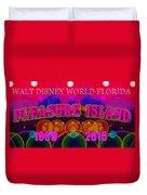 Remembering Pleasure Island Duvet Cover