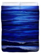 Remembering The Waves Duvet Cover