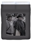 Remembrance Day Parade Duvet Cover