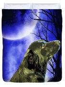 Remembrance Of Apollo Duvet Cover by Savannah Fonner
