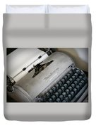 Remington Quiet Riter Duvet Cover