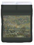 Reminiscence Of Brabant Saint Remy De Provence March - April 1890 Vincent Van Gogh 1853  1890 Duvet Cover