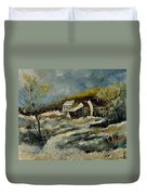 Remote Houses In The Ardennes  Duvet Cover