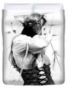 Renaissance Archeress Duvet Cover