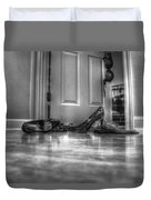 Rendezvous Do Not Disturb 05 Bw Duvet Cover