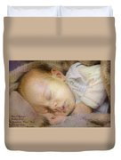 Renoircalia Catus 1 No.2 - Adorable Baby L A Duvet Cover