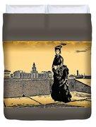 Renuar Peterburg Collage Duvet Cover