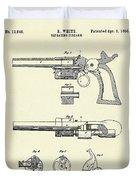 Repeating Firearm-1855 Duvet Cover