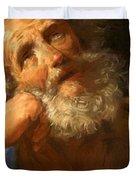 Repentant Peter 1637 Duvet Cover