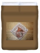 Repose- Tile Duvet Cover