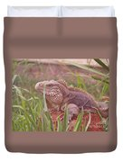 Reptile Land  Duvet Cover