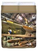 Republic F-105 Thunderchief Duvet Cover