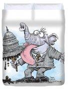 Republicans Lick Congress Duvet Cover